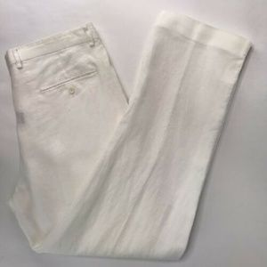 Murano Mens Linen Casual Dress Pants Size 34x32